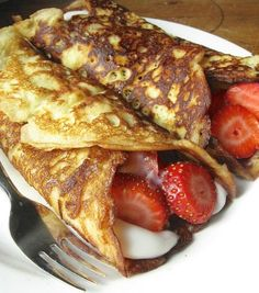 An attempted copycat recipe of Pamela's Diner crepe style pancakes - a Pittsburgh culinary treat.  Will have to try this sometime to see if it measures up to the original.