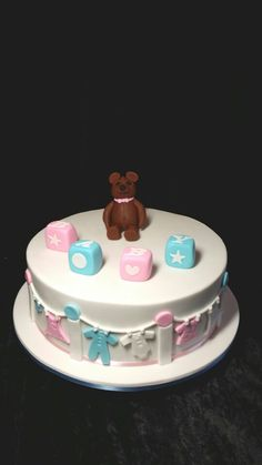 Sarang's Baby Shower Cake
