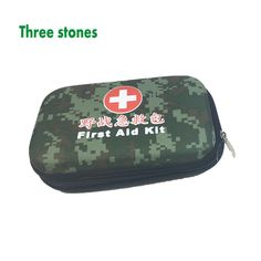 Empty First Aid Kit Bag Travel Camping Carry-on Medicine Bag Hiking Car Camo First Aid Kit(China (Mainland))