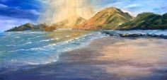 Spirits Bay, Northland, New Zealand Painting Workshop, New Zealand, Oil On Canvas, California, Art, Art Background, Kunst, Performing Arts, Art Education Resources
