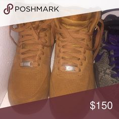 reputable site 6de57 06efc Nike Air Force 1s Tan, suede Air Force 1s Nike Shoes Sneakers