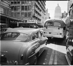 ca. 1940 South Presa St. at Carolina St. looking north