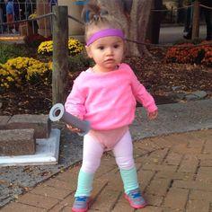 15 diy toddler halloween costumes pinterest toddler halloween toddler aerobics instructor costume solutioingenieria Choice Image