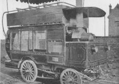 An early steam bus.
