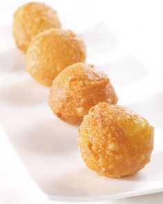 Gruyere-and-Parmesan Beignets - Martha Stewart Recipes