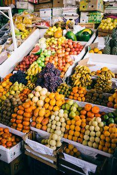 Travel Inspiration for Peru - Peruvian Fruits at San Pedro Market Cusco Peru Fruit And Veg, Fruits And Vegetables, Fruit Displays, Peru Travel, Thinking Day, Gal Meets Glam, South America Travel, Santa Barbara, Healthy Drinks