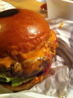 The Patty & Bun burger - Bond Street