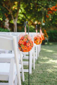 Free Spirited Palm Springs Wedding from Brian Evans Photography. Country Wedding Flowers, Romantic Wedding Flowers, Orange Wedding Flowers, Wedding Ceremony Flowers, Wedding Hair Flowers, Wedding Ceremony Decorations, Orange Weddings, Arch Wedding, Ceremony Arch
