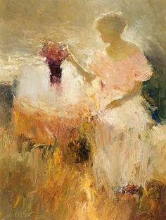 Floral Affair by Dan McCaw | Oil | 24 x 18 inches