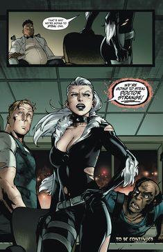 Marvel Comic Universe, Comics Universe, Marvel Avengers, Black Cat Marvel, Sci Fi Horror, Comic Books Art, Book Art, Spider Verse, Comic Page