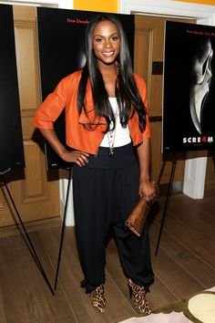 Tika sumpter | Tika Sumpter Actress Tika Sumpter attends the Scream 4 New York ...