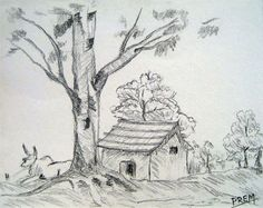 83 Best Nature Pencil Sketches Images Painting Art Paintings