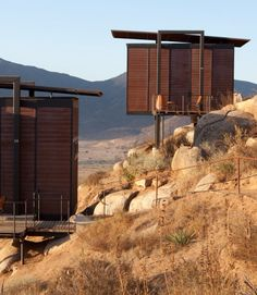 The gorgeously minimalist Eco Lodges at Encuentro Guadalupe