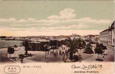 Faro : Jardim Publico Algarve, Portugal, Poster, Painting, Public Garden, Weather, Lighthouse, Painting Art, Posters
