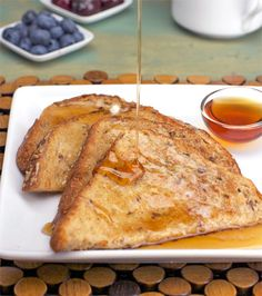 Egg-Free French Toast This recipe is a lifesaver I recently found out I can't have eggs anymore  so I'm really happy when I discover that I don't have to give up some of my favorite egg base recipes