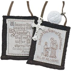Deepen your devotion to the Virgin Mary by wearing her garment, the Brown Scapular of Mount Carmel. Available online at Leaflet Missal Company.