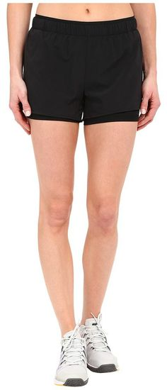 Nike Full Flex 2-in-1 2.0 Shorts (Black/Black/Black) Women's Shorts - Nike, Full Flex 2-in-1 2.0 Shorts, 777488-010, Apparel Bottom Shorts, Shorts, Bottom, Apparel, Clothes Clothing, Gift, - Street Fashion And Style Ideas