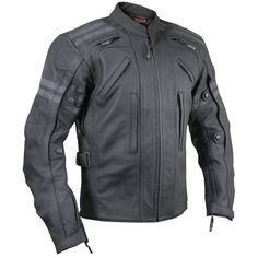 Vulcan Men's VTZ-900 Armored Motorcycle Jacket