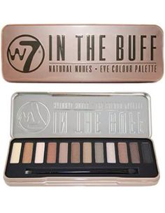 """W7- """"In The Buff"""" Natural Nude Palette $7.15 http://diamondsproducts.ladys-styles.com/home.html"""
