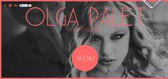 Olga Palet website has a Great Web Design | Best Web Designs
