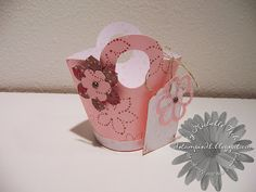 big shot baskets and blooms stampin up | Saturday, August 23, 2008