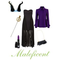 Disney Villains DIY Halloween Costume Guide: Maleficent Look
