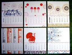thanks @Kelly Brown for including the Idea Chic Seasons Calendar on Simply KellyB: Best of Calendars 2013 on Studio 5