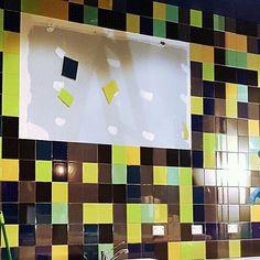 F E A T U R E  W A L L Completed #restaurant #tiler #interior #tiling #customrestaurant #customdesign #interior #design #lifestyle #luxury #designinspo #luxurylife #brickpattern #melbournetiler #DYNAMICSTILING #tileaddiction #tileporn #melbourne #tilepattern #tiledesign #featurewall by dynamicstiling