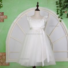 Hey, I found this really awesome Etsy listing at https://www.etsy.com/listing/234917168/white-flower-girl-dresses-tulle-flower