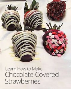 Chocolate-Covered Strawberries Recipe