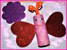 valentine's day activities toilet roll crafts