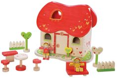 EverEarth Fairy Tale Wooden Doll House - EverEarth