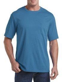 Harbor Bay® Wicking Jersey Pocket Tee (more sale colors)  Blue Lagoon Harbor Bay® Wicking Jersey V-Neck Tee $7.49 - $30.00  Was $30.00, Save Up To 75%
