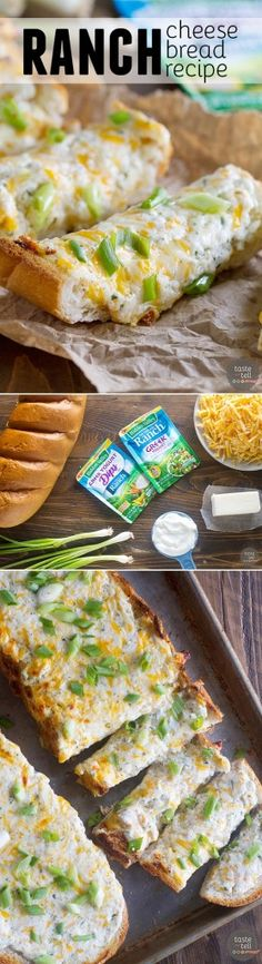 Need a side dish that packs a punch of flavor? Try this Ranch Cheese Bread that comes together in well under 30 minutes! Sponsored by Hidden Valley. #ad #hiddenvalley #rancheverything