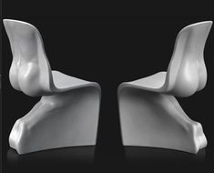 Stylish, very modern, very sexy – Fabio Novembre's His and Her chairs are overtly sensual enough to not be to everyone's taste, but there's no denying their (eyebrow-raising) power.