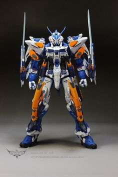 MG 1/100 Gundam Astray Blue Frame Third - (Resin Conversion) Custom Build - Gundam Kits Collection News and Reviews