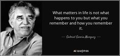 """Discover Gabriel Garcia Marquez famous and rare quotes. Share Gabriel Garcia Marquez quotations about heart, reality and memories. """"Even when the winds of misfortune blow, amazing. Daily Quotes, Book Quotes, Gabriel Garcia Marquez Quotes, English Love, What Happened To You, English Quotes, Quotable Quotes, Picture Quotes, Favorite Quotes"""