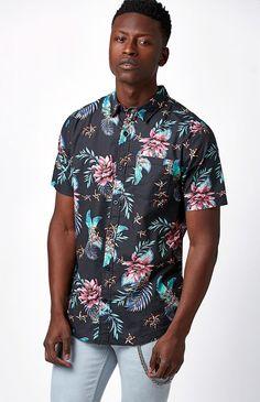 Happy Friday Short Sleeve Button Up #Shirt | Pacsun.com