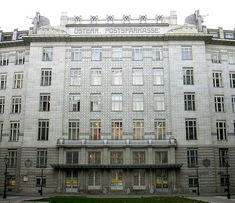 Post Office Savings Bank (Vienna), Jugendstil by Otto Wagner