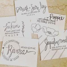 Pre Addressed Envelopes