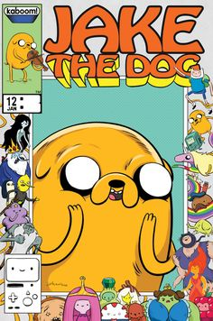 "jjharrison: ""Adventure Time Comics Issue 12 Limited Collector's Edition Variant by JJ Harrison for Boom Studios Jake the Dog is in a series of 5 exclusive covers. Adventure Time Poster, Adventure Time Style, Adventure Time Comics, Adventure Time Wallpaper, Cartoon Network, Bff Drawings, Finn The Human, Jake The Dogs, Bubbline"
