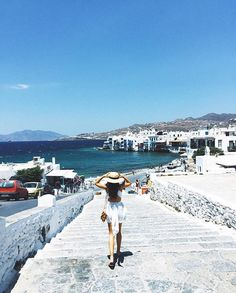 "Lack of Color Hats on Instagram: ""Happy Friday! From where we'd rather be with @thedriftingduo #Mykonos """