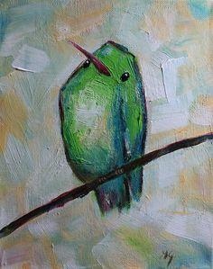Original Acrylic Painting Daily Painting 2 Modern by mgotovac, $60.00