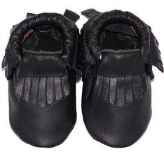 BabySteps Mocassins black Ibiza Style limited edition