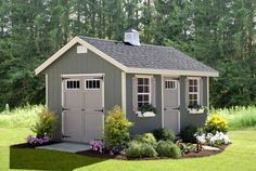 Amish Ez-fit Riverside Shed Kit - Choose Size