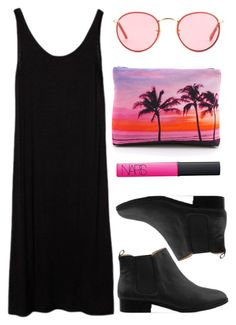 """Untitled #301"" by style-dreams ❤ liked on Polyvore featuring Samudra, Ray-Ban, Marais USA and NARS Cosmetics"