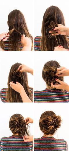 Amazing Hair Tutorial for any time of the year! #braids #hairtutorial