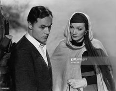 Marlene Dietrich as Domini Enfinden with Charles Boyer in The Garden of Allah by Richard Boleslawski 1936 Vintage property of ullstein bild.