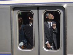 Qué gustito viajar en metro por la mañana…