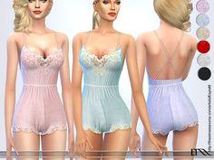 Lana CC Finds - Babydoll Lace Lingerie by EsyraM